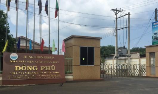 Khốn khổ vì nhà máy phân bón gây ô nhiễm ở Bình Phước