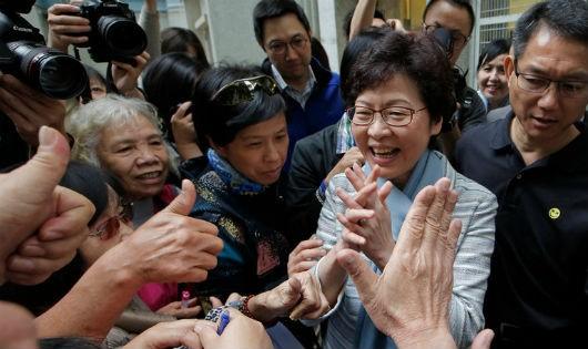 Hong Kong có nữ trưởng đặc khu đầu tiên