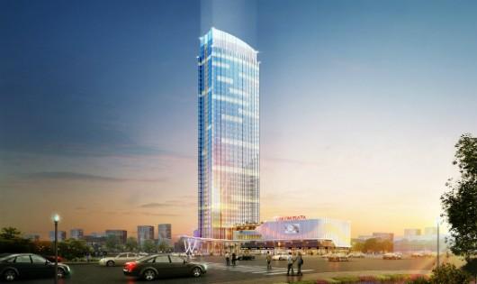 Tòa tháp 45 tầng – điểm nhấn của Vinhomes Imperia, biểu tượng cho sự phát triển năng động và thịnh vượng của Hải Phòng