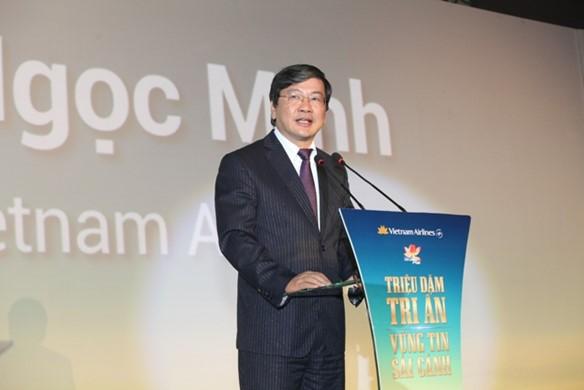 Chủ tịch Vietnam Airlines từng là Phó Chủ tịch Ủy ban Olympic khóa IV. Ảnh nguồn Internet
