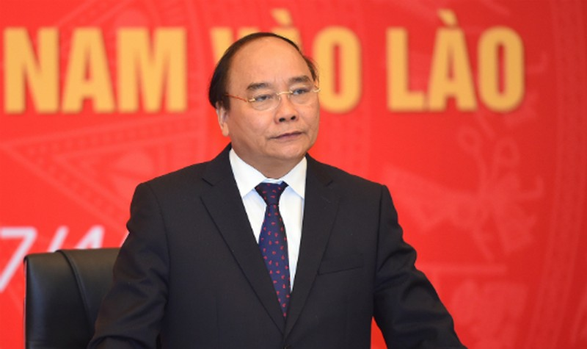 Thủ tướng phát biểu tại buổi gặp mặt. Ảnh: VGP/Quang Hiếu