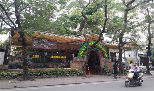 """Hoạt động kinh doanh chính của trung tâm  triển lãm văn hóa nghệ thuật Việt Nam chủ yếu là """"xẻ thịt"""" cho thuê các mảnh đất vàng của trung tâm"""