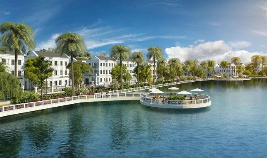 """Khái niệm """"3 xanh"""" quy tụ đủ xanh trời, xanh nước và xanh cây của Vinhomes Riverside – The Harmony"""