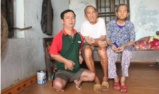 Đau xót gia cảnh có 4 người bệnh tật