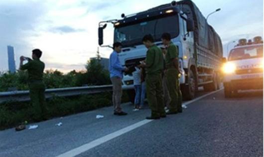 Công an Nam Từ Liên điều tra vụ cướp táo tợn trên đại lộ Thăng Long