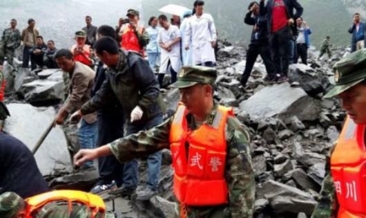 Trung Quốc: Ít hy vọng với 118 người mất tích do lở đất