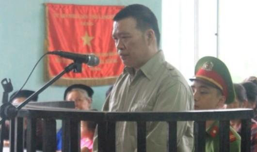 Bị cáo Triệu Văn Trường. Ảnh Baolangson