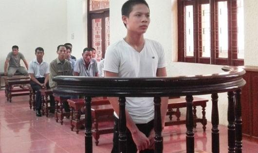 Bị cáo Thành tại phiên tòa xét xử