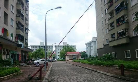 Một phần cụm chung cư CT20 Khu đô thị Việt Hưng