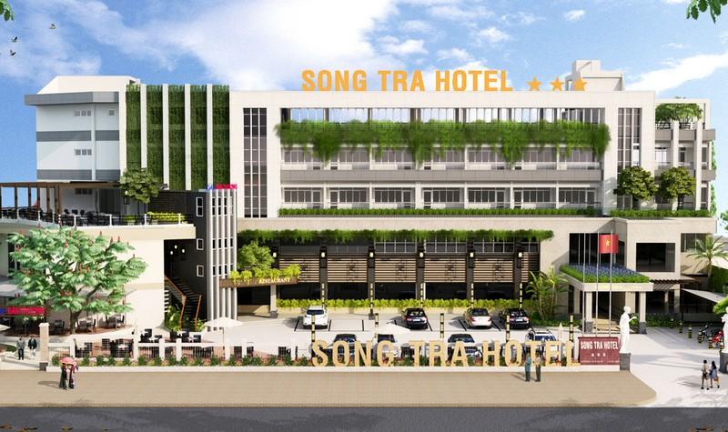 Phối cảnh dự án Khách sạn Sông Trà, sau Khi được Tập đoàn Sao Mai cải tạo, nâng cấp