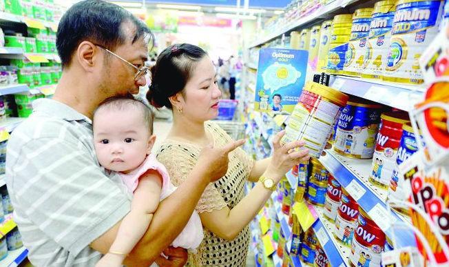 Sữa và thực phẩm chức năng: Sẽ phải đăng ký giá bán lẻ