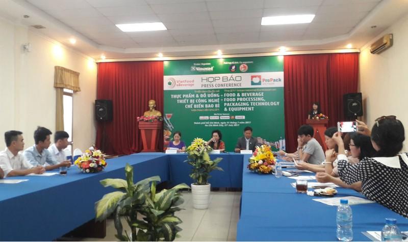 TP. Hồ Chí Minh: Sắp diễn ra Triển lãm Thực phẩm – Đồ uống & Thiết bị Công nghệ chế biến