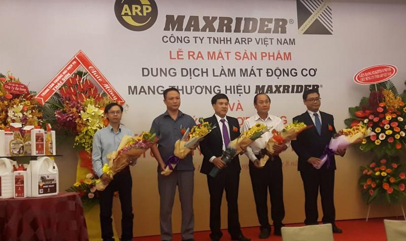 Lễ ra mắt và ký kết với các đối tác về sản phẩm Maxrider