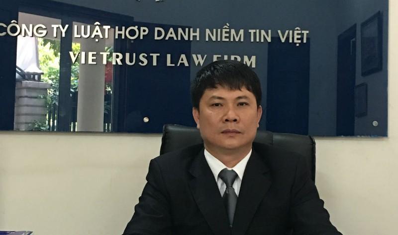 Luật sư  Lê Trung Sơn