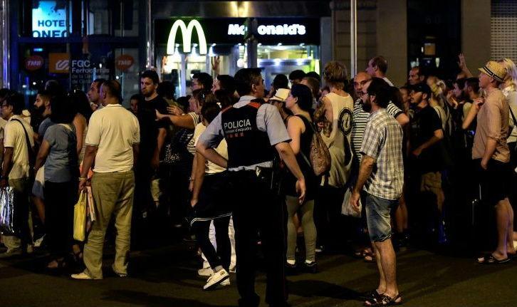 Tây Ban Nha truy bắt lái xe trong vụ tấn công ở Barcelona