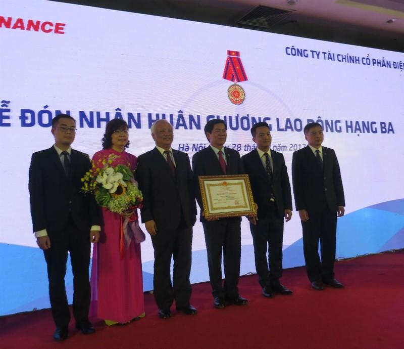 EVNFinance kỷ niệm 9 năm thành lập và đón nhận Huân chương Lao động hạng Ba