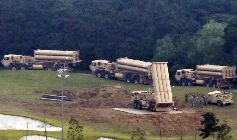Hàn Quốc ngày 7/9 triển khai 4 bệ phóng của hệ thống THAAD