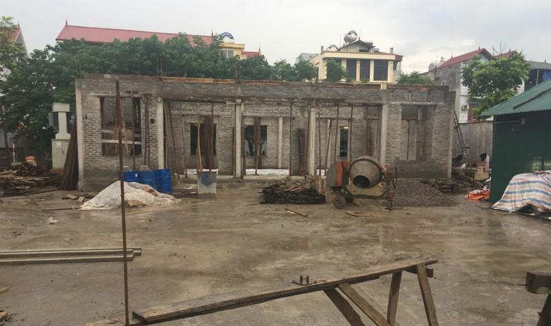 Diện tích đất ao của cụ Nghị trước đây được cho là đã công hữu vào Hợp tác xã  Văn Trì