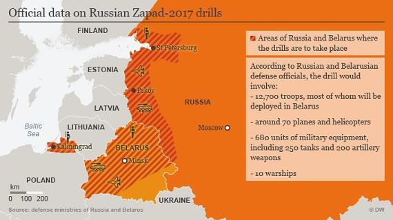 Nga và Belarus bắt đầu tiến hành tập trận chung khiến NATO lo ngại