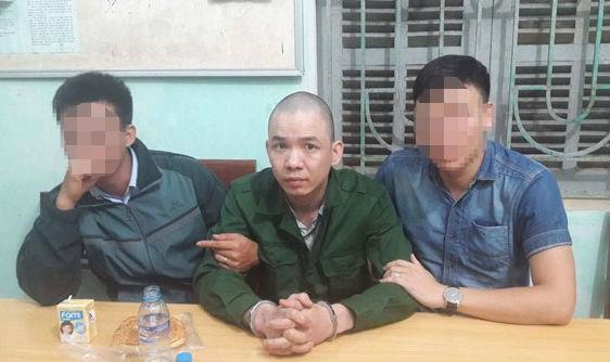 Nguyễn Văn Tình sau khi bị bắt