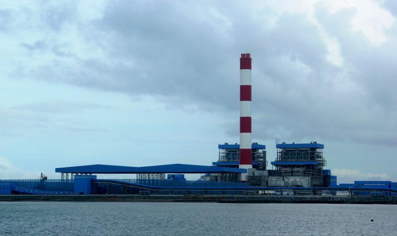 Một góc nhà máy nhiệt điện Duyên Hải, Trà Vinh