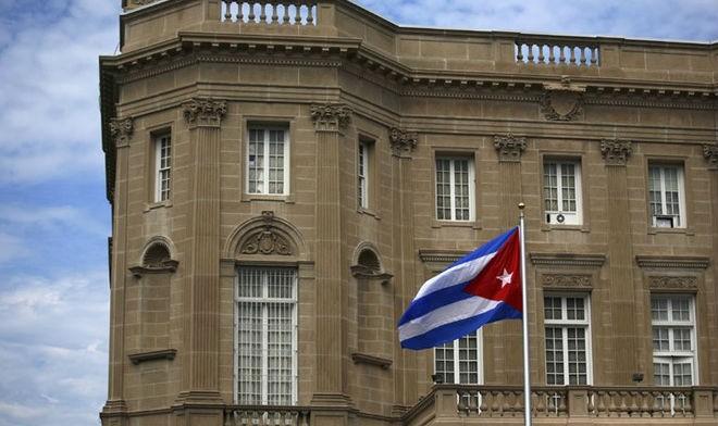 Đại sứ quán Cuba ở Washington. Ảnh: Reuters/zing