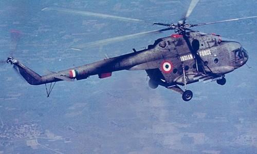Trực thăng Mi-17 của không quân Ấn Độ. Ảnh: India Air Force/VnE