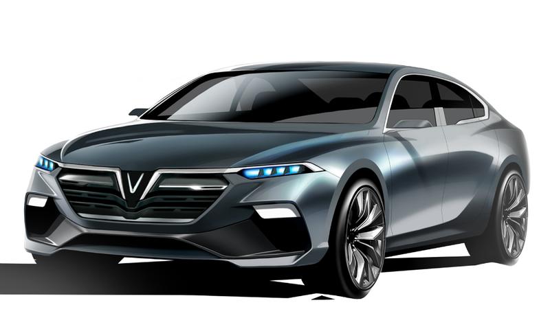 Mẫu xe Sedan 02 của nhà thiết kế Ital Design