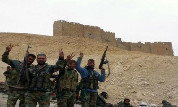 Quân đội Syria với sự hỗ trợ đắc lực của các máy bay chiến đấu Nga đã giải phóng hoàn toàn Palmyra
