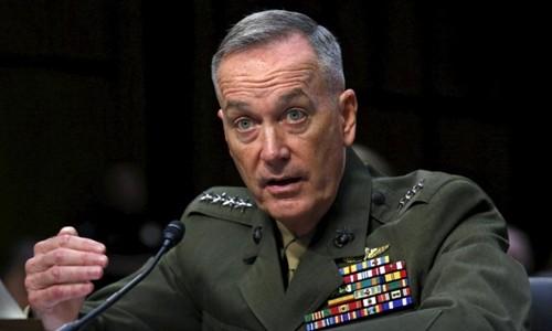 Chủ tịch Hội đồng tham mưu trưởng Liên quân Mỹ Joseph Dunford. Ảnh: Reuters/VnExpress