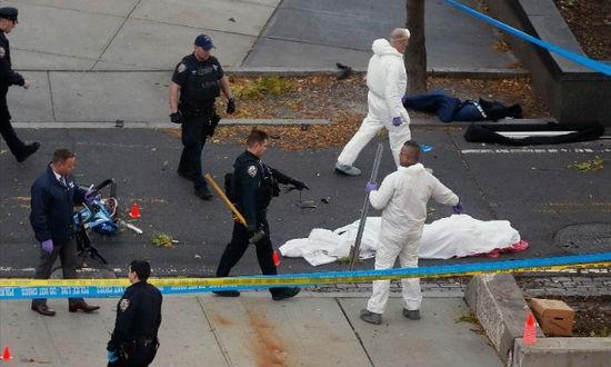 Nạn nhân bị khủng bố bằng xe tải ở khu vực Hạ Manhattan
