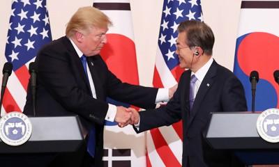 Tổng thống Mỹ, Hàn nhất trí gia tăng năng lực phòng ngừa Triều Tiên