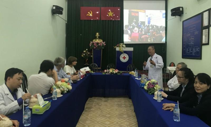 Bác sỹ Đoàn Xuân Tùng giới thiệu về mô hình BSGĐ tại BV Quận 10
