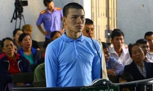 Bị cáo Lương Xuân Trang tại phiên xét xử sơ thẩm. Ảnh VOV