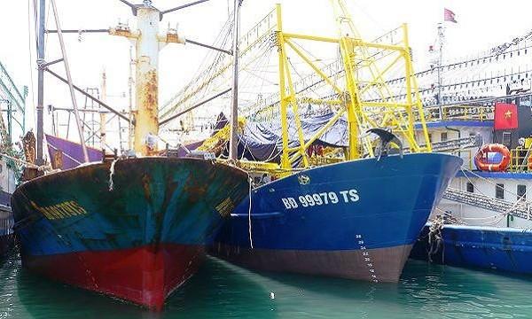 Luật Thủy sản 2017 có hiệu lực sẽ không còn xảy ra những vụ 18 tàu cá gỉ sét và hàng loạt cán bộ đăng kiểm tàu cá bị kỷ luật? (Ảnh minh họa)