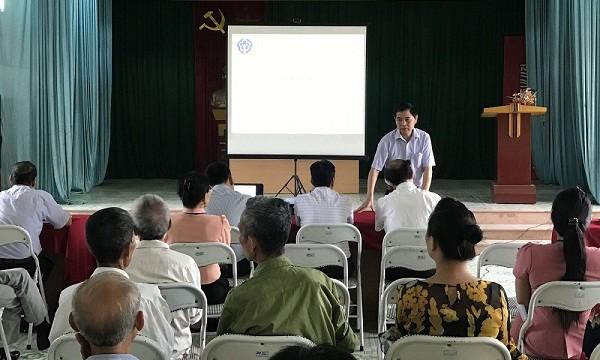 Tuyên truyền về BHXH tự nguyện, BHYT hộ gia đình tại huyện Thanh Ba, tỉnh Phú Thọ