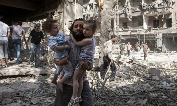 Cuộc nội chiến kéo dài 7 năm ở Syria đã để lại vô vàn đau thương, tang tóc trên đất nước này