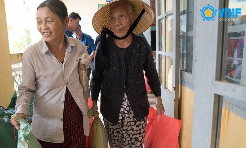Quỹ VNIF dành nửa tỷ đồng cứu trợ đồng bào gặp thiên tai