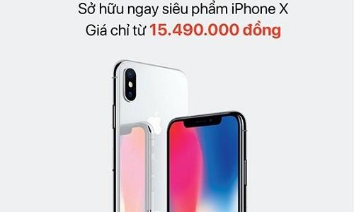 "Thuê bao MobiFone ""nhấp nhổm"" chờ mua iPhone X nửa giá"