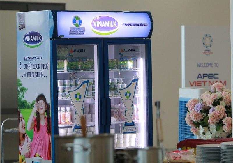 Sản phẩm Vinamilk được trưng bày tại APEC 2017