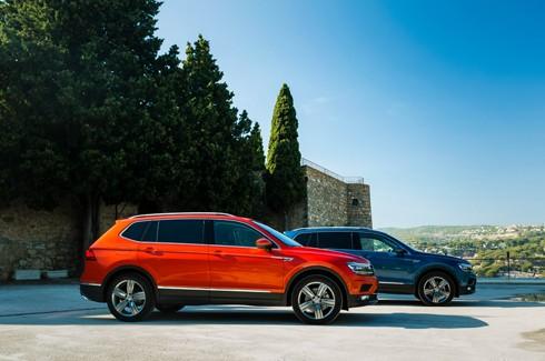 Volkswagen Tiguan 7 chỗ sắp về Việt Nam