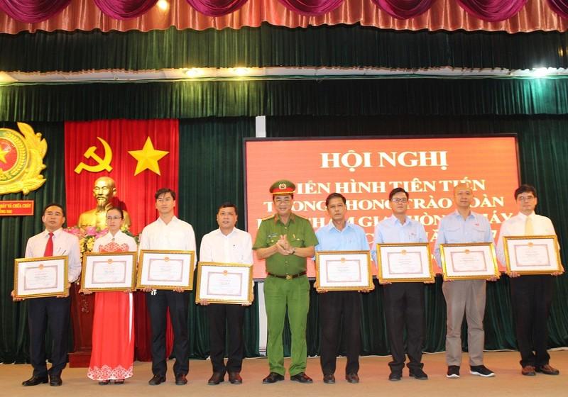Vedan Việt Nam là đơn vị điển hình tiên tiến về PCCC năm 2017