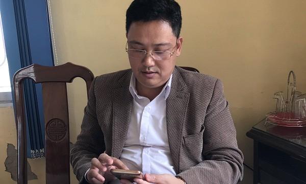 Ông Kim Văn Ba  - Chủ tịch UBND xã Bình Định