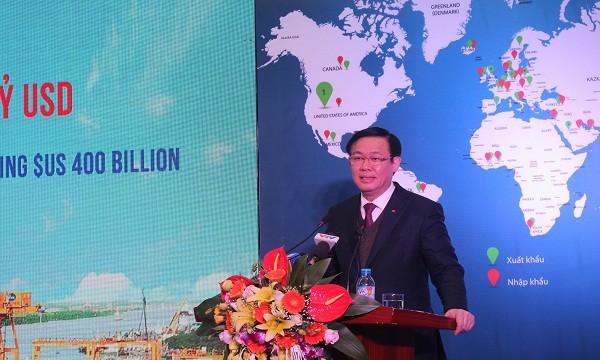 """Xuất nhập khẩu của Việt Nam """"cán"""" mốc 400 tỷ USD"""