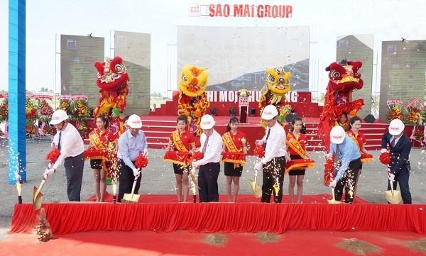 """Khởi động dự án """"Tổ hợp khách sạn quốc tế Sao Mai tiêu chuẩn 5 sao"""" tại thành phố Cà Mau"""