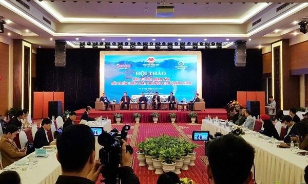 Toàn cảnh hội thảo đầu tư bất động sản với chiến lược phát triển du lịch Quảng Ninh