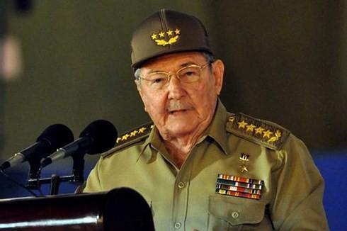 Chủ tịch Hội đồng Nhà nước Raul Castro đã tuyên bố sẽ rời khỏi chính trường vào năm 2018. (Ảnh: plenglish/VOV)