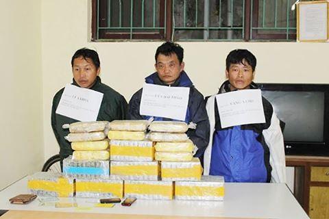 Phá đường dây ma túy khủng, thu giữ gần 30kg heroin và 5,5kg ma túy đá