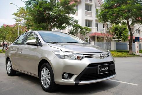 Toyota Vios, mẫu xe bán chạy hàng đầu của hãng xe Nhật tại Việt Nam.