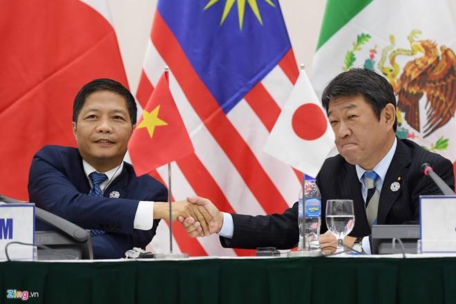 Nhật thúc đẩy ký TPP 11 vào tháng 3/2018